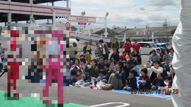 岡山で快盗戦隊ルパンレンジャーVS警察戦隊パトレンジャーショー開催しました