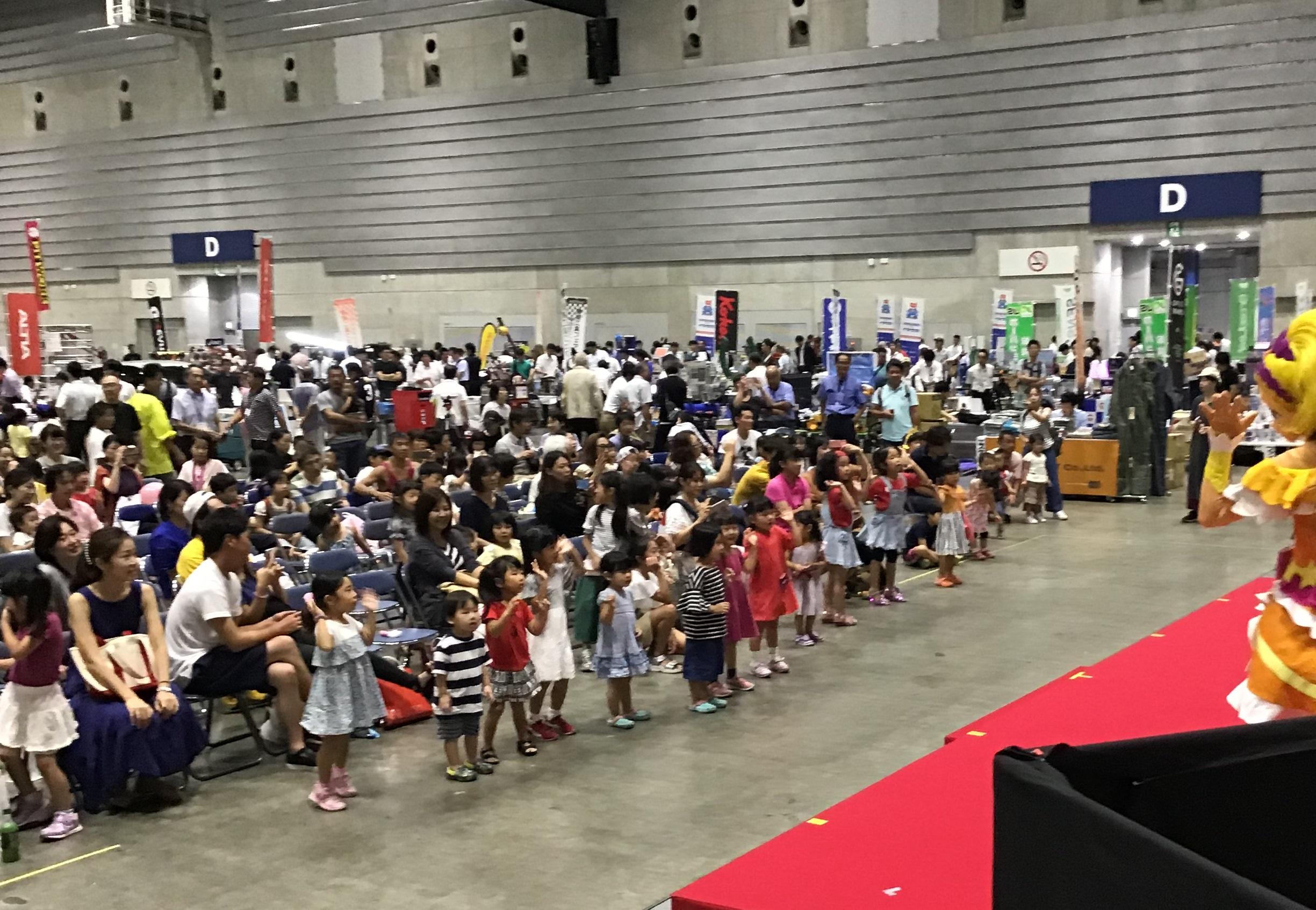 横浜でプリキュアショーを行いました!