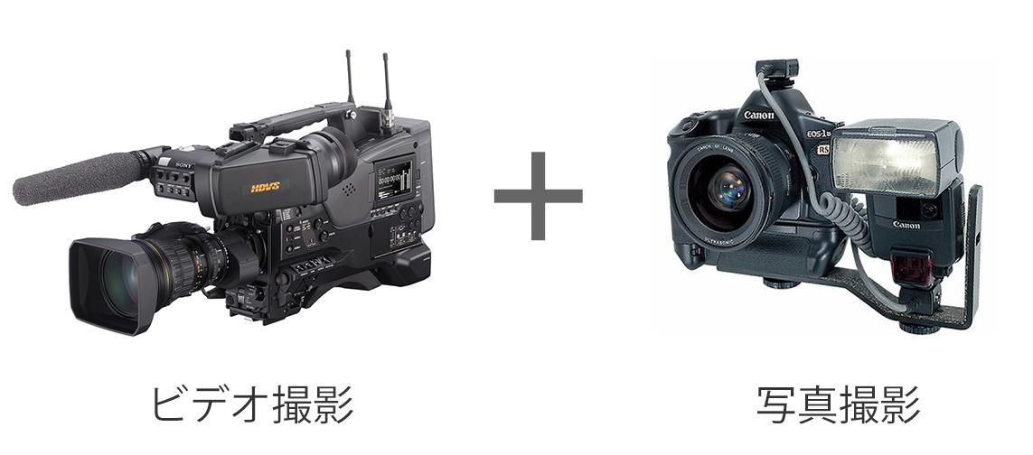お得なビデオ&写真セットプラン